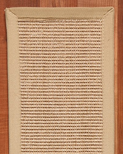 NaturalAreaRugs Temperley 100-Percent Sisal Carpet Stair Treads Rug Set, 9-Inch by 29-Inch, Set of 13 by NaturalAreaRugs