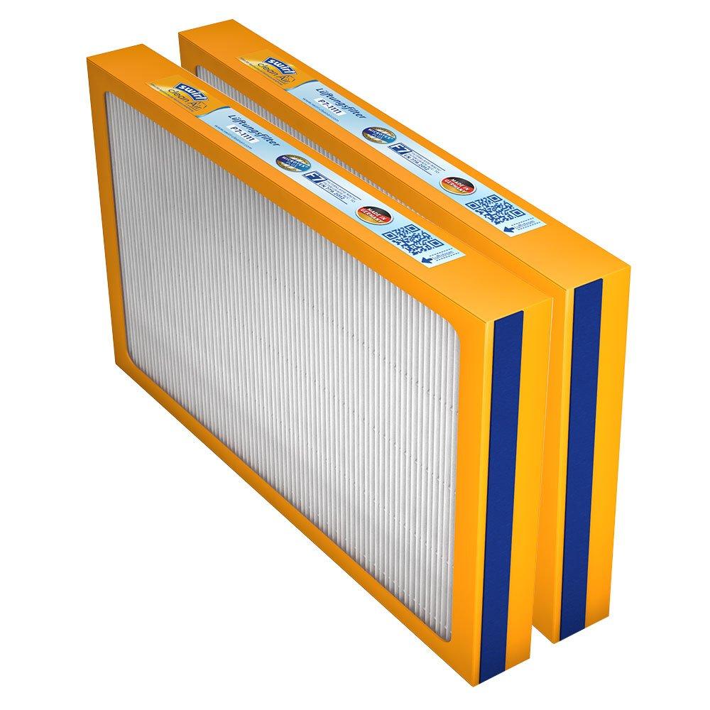 Swirl Ersatzfilter-Set, (2 x F7) fü r Stiebel Eltron LWZ 304/404/504 (2 x F7 Pollenfilterkassette) Melitta