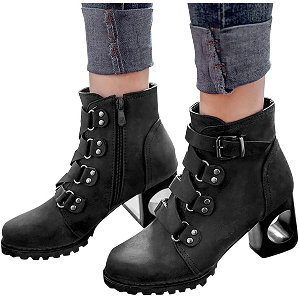 Women's Wide Width Ankle Boots Mid