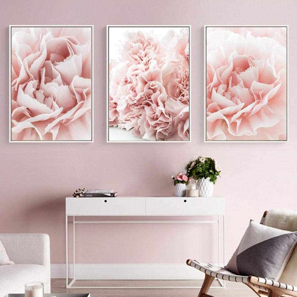 Canvas Painting Wall Art Picture Hanging Poster Home Decor Colorful Flower