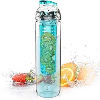 AVOIN Colorlife 27 Oz. Sport Tritan Fruit Infuser Water Bottle