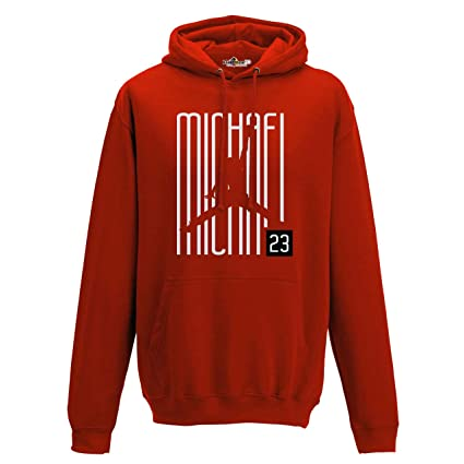 Sudadera con Capucha Hoodie Airness 23 Writers Chicago All Star Red XXL red