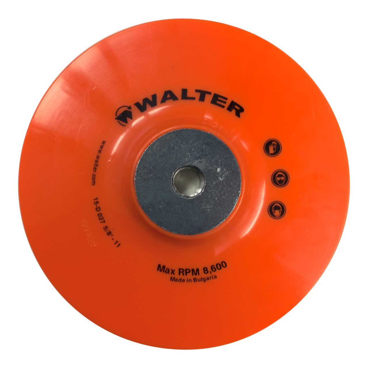 Walter Surface Technologies 15D027 Backing Pad Assembly 7 7