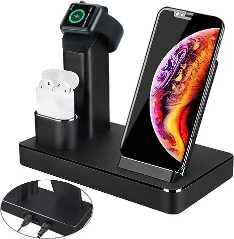 3 in 1 Ladestation Stand für Apple Watch AirPods: