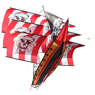 X-Kites 3D Supersize Pirate Ship: Toys & Games