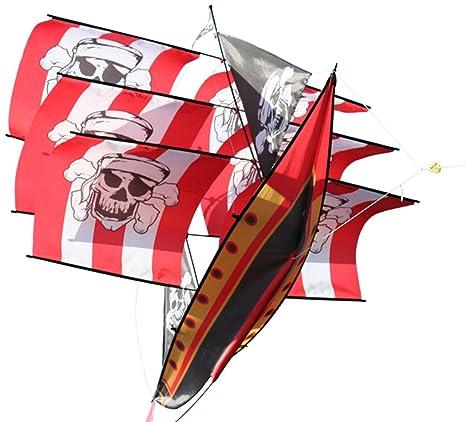 Amazon X Kites 3d Supersize Pirate Ship Toys Games