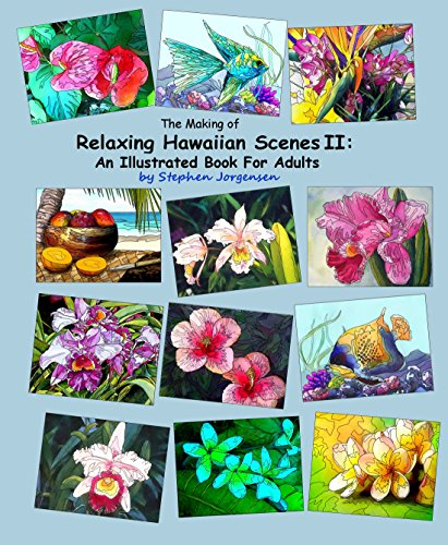 The Making of Relaxing Hawaiian Scenes II: An Illustrated Book for Adults