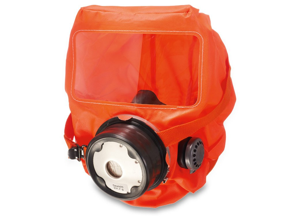Dräger PARAT C/5510 máscara de Humo Capucha de evacuación/protección respiratoria/con Integrado cámara del respiradero: Amazon.es: Electrónica