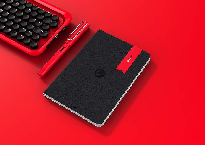 Czur Bookmark Gift//present Cool elegante creativo metallo ricompensa segnalibro per uomo//donna//lettore//Designer Candy Apple Red