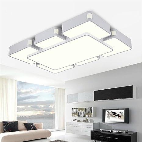 Led montados en superficie ZSQ modernas lámparas de techo de ...