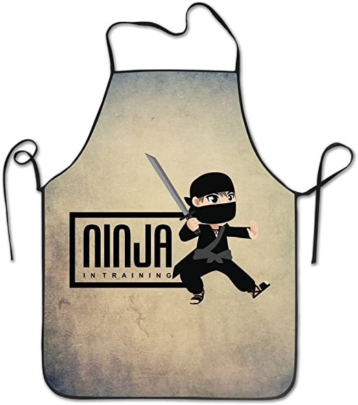 Amazon.com: Ninja In Training Warrior Samurai Cooking Aprons ...