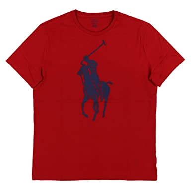 0701f390 Polo Ralph Lauren Mens Big Pony Graphic Logo T-Shirt at Amazon Men's  Clothing store: