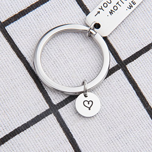 ENSIANTH Coworker Retirement Gift Coworker Keychain Going Away Gift for Retired Colleague Best Friends (Coworker Keychain) by ENSIANTH (Image #5)