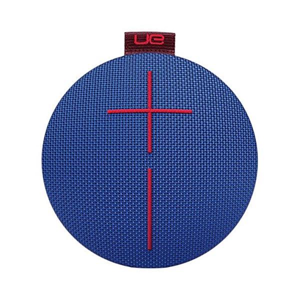 Ultimate EarsROLL2 Enceinte Bluetooth Ultraportable avec Flotteur, Waterproof et Antichoc - Bleu/Rouge 1