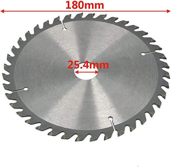 disco de corte circular de acero de alta velocidad de 72 dientes Disco de corte peque/ño para metal Madera Pl/ástico Hoja de sierra circular de 60 mm 6mm