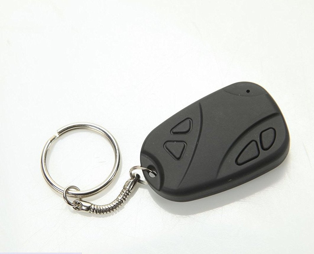 1 eye products 808 Keychain Camera HD - Mini Hidden Camera Spy Gear