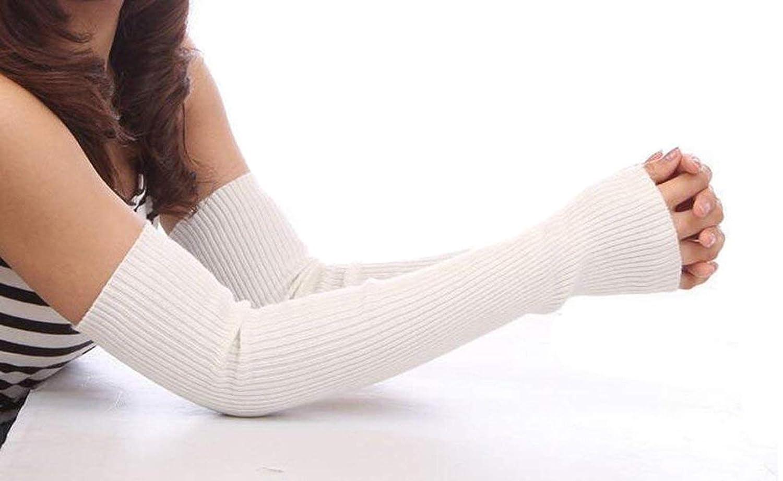 Ericotry Donna elastico senza dita scaldabraccia guanti inverno caldo cotone manica lunga da donna per ragazza nero Best Xmas Gift, Blue