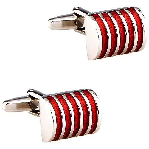 Amazon.com: cifidet cinco rayas, color rojo esmalte epoxi ...