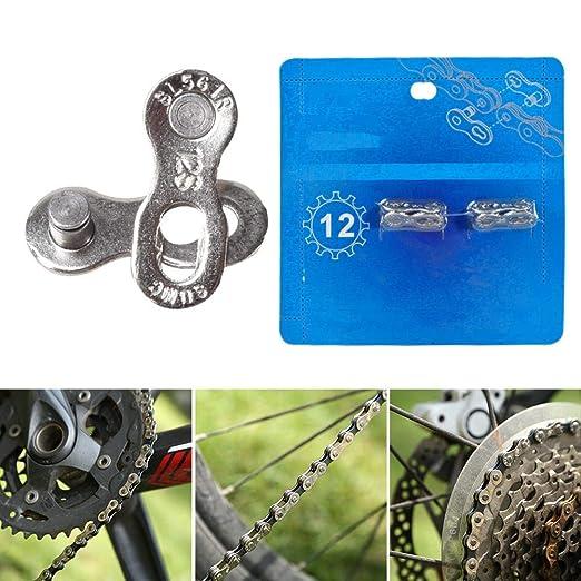 Matefielduk Conector de Cadena de Bicicleta 2 Pares para 12V ...