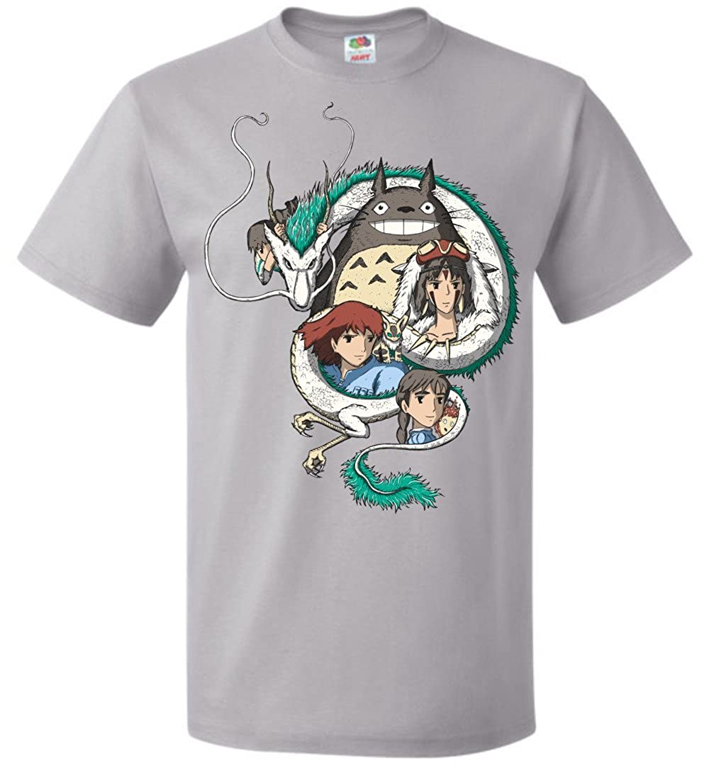 2a60c9962 Ghibli Unisex T-Shirt Anime Otaku Nerdy Geeky Graphic Tee: Amazon.ca:  Clothing & Accessories