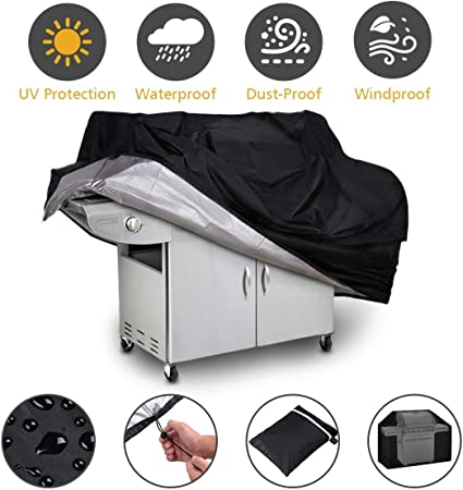 Tegollus BBQ Cover Char... Brinkmann 210D Heavy-Duty Barbecue Cover for Weber