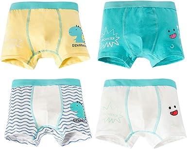 iVENUS 4 Pack Little Boys Niños Pantalones Shorts Braguitas ...