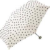 World Party轻量迷你手开式折叠伞(附赠拉链伞套)两种颜色可选、6根伞骨、50厘米 白色