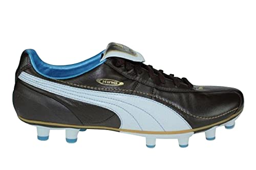Puma King XL FG Italia - Botas de Fútbol de Piel Hombre, Marrón (marrón