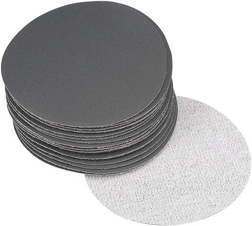 20pcs 5inch Hook/&Loop Wet//Dry Sanding Discs 800 1500 2000 3000 Grit Sandpaper