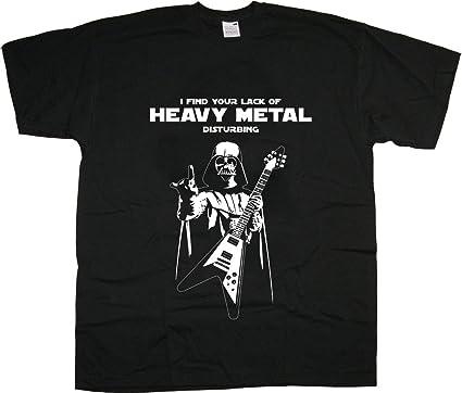 Darth Vader Heavy Thrash Metal Rock Camiseta para Hombre Unisex: Amazon.es: Ropa y accesorios