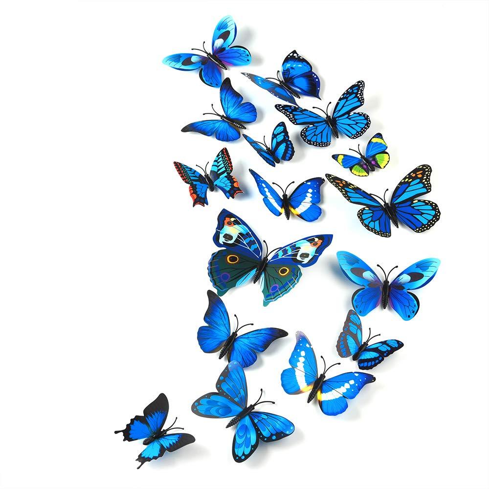 Large Butterflies PEEL OFF STICKERS Butterfly Lovely Colours Cardmaking