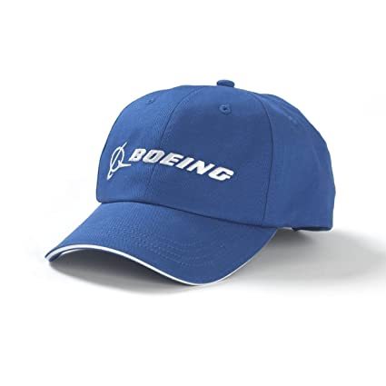 40f06a7986c Amazon.com  Boeing Blue Logo Hat  Sports   Outdoors