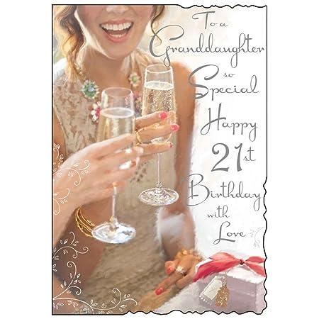Jonny Javelin Granddaughter 21st Birthday Card