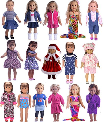 Bowant 25 Patterns 18-Inch American Girl Doll