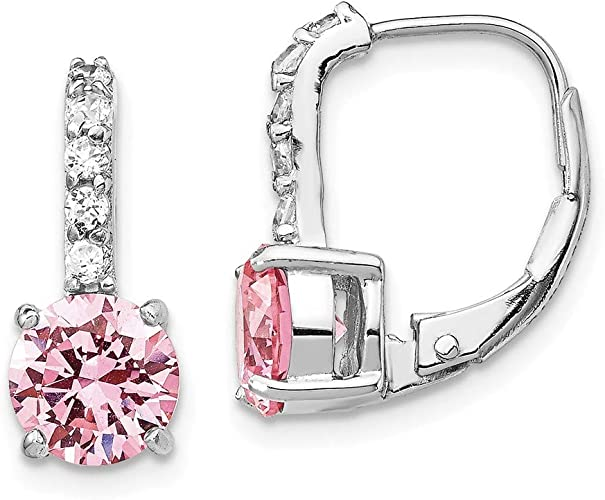 July Birthstone Gift Silver Ruby Earrings Drop Lever Back Earrings 925 Sterling Lever Back Earrings Red Druzy Earrings Dangle for Women