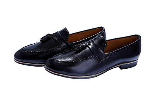 fa86b58abebe5 Hush Berry The Vintage Royal Tassel Loafer Shoes for Men: Buy Online ...