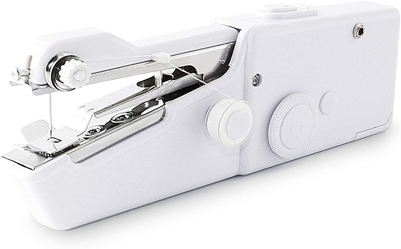 Mini Sewing Machine for Beginners Sewing Machine Quick Handy Stitch BYFRI Handheld Sewing Machine Mini Handy Cordless Portable Sewing Machine