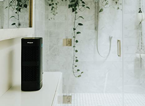 Amazon.com: Whirlpool Whispure WPT60B, True HEPA Air Purifier, Activated Carbon Advanced Anti-Bacteria, Ideal for Allergies, Odors, Pet Dander, Mold, Smoke, ...