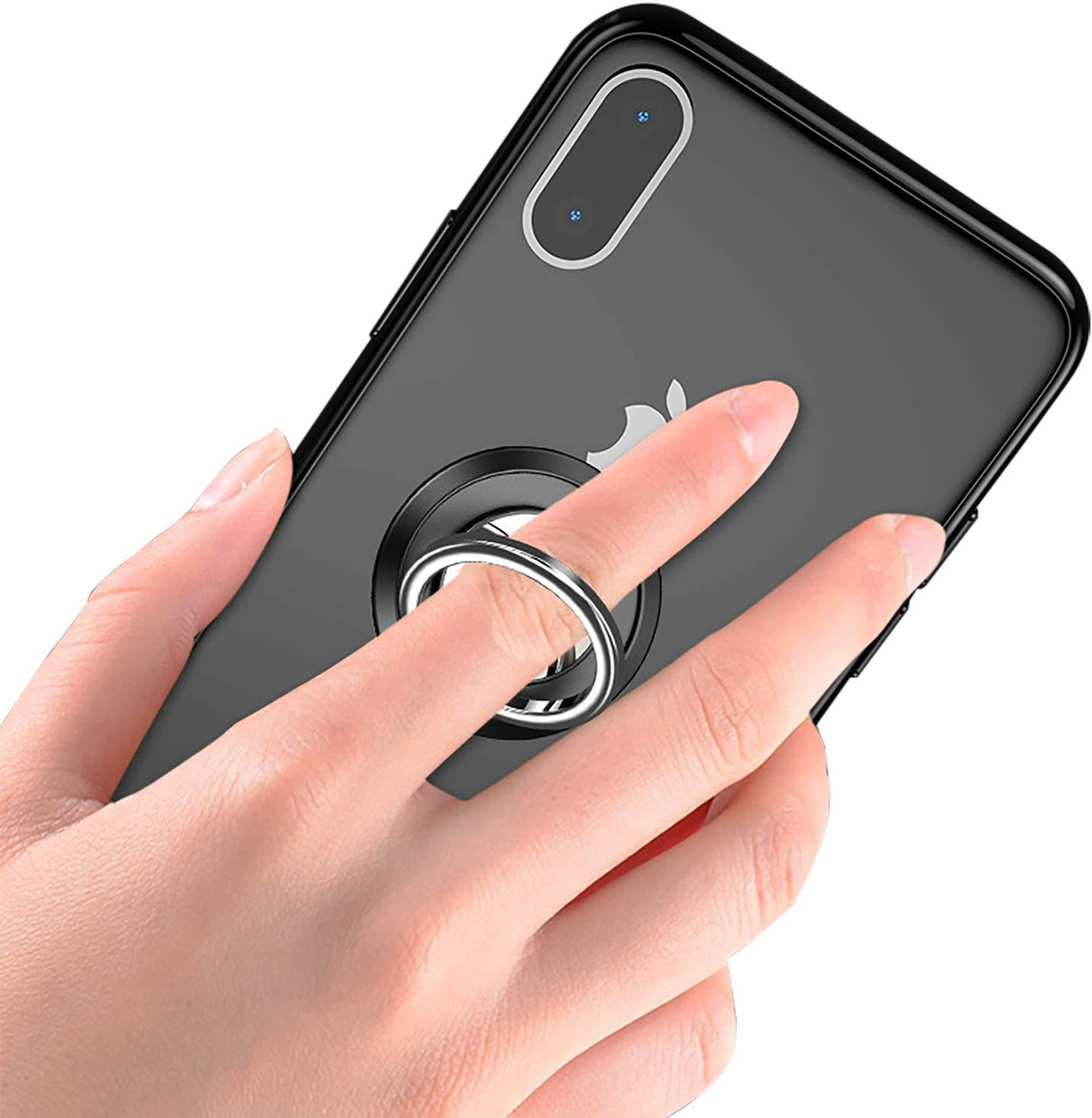 Pink, One Size Phone Ring Holder Finger Kickstand NICEKEY 360/° Rotation Metal Ring Grip for Magnetic Car Mount Compatible for iPhone iPad Samsung Galaxy All Smartphone