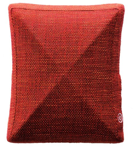 Atex Lourdes Massage Cushion Back or Foot Massager Pillow - Urban red (AX-HL168rd) [Japan Import]