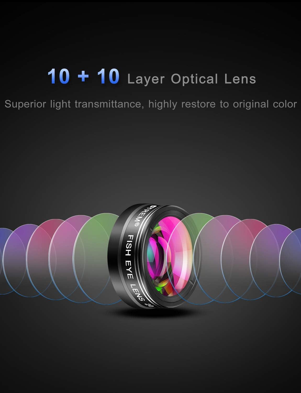 Amazon.com: Mactrem - Juego de lentes para teléfono 9 en 1 ...
