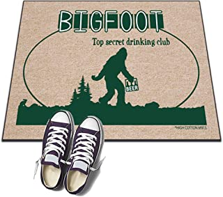 product image for HIGH COTTON Bigfoot Top Secret Drinking Club Welcome Doormat
