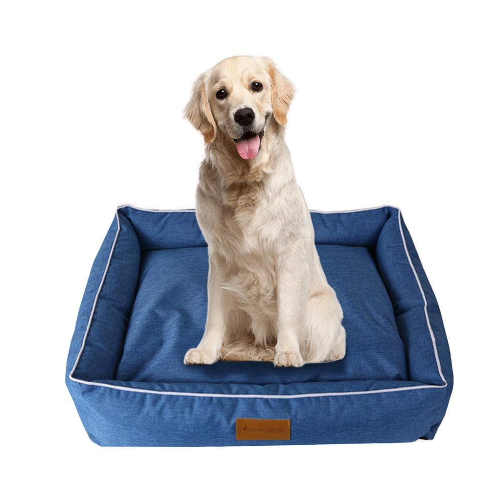 bluee 26 x22 x7.1 Vim Tree001 Waterproof Pet Bed Durable Cover Dog Bed Lounge Sofa for Small Medium Large Dog Brown 26 x22 x7.1