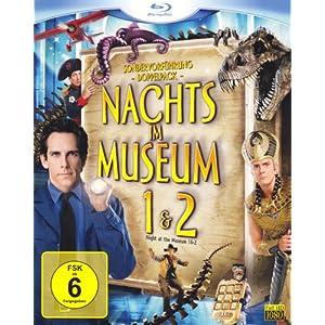 Nachts im Museum 1&2 [Blu ray] nur 13,99€ inkl. Versand