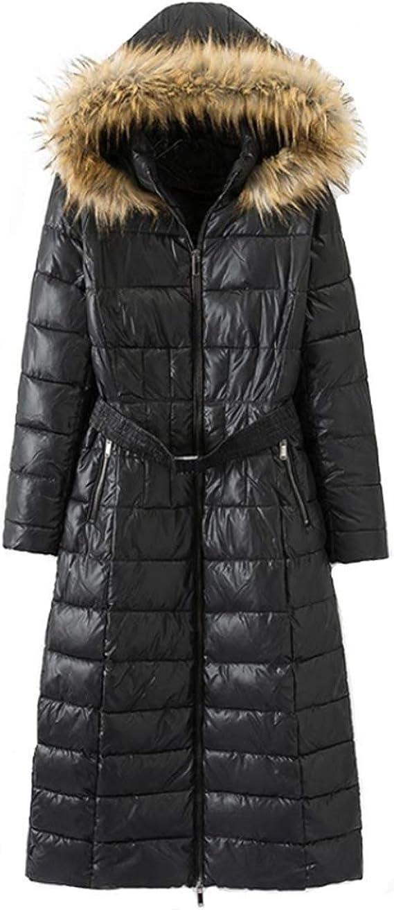 Fanessy Mode Manteau Doudoune Femme Longue à Capuche en