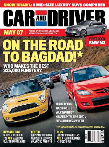 Car And Driver Subscription >> Car And Driver Amazon Com Magazines