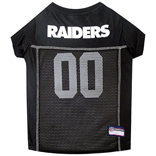 OAKLAND RAIDERS Dog Mesh Jersey ★ ALL SIZES ★ Licensed NFL (Los Angeles Halloween Costumes)
