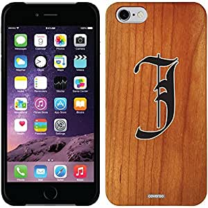 fashion case iphone 4s Madera Wood Thinshield Case with English J Design