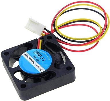 hEziJpTnA Impresora 3D Ventilador de refrigeración de 12 V CC ...
