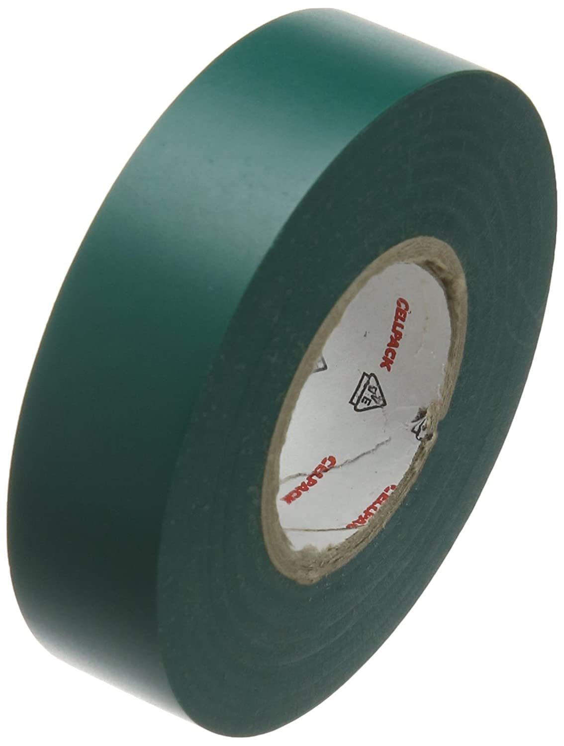 Cellpack 145802  128  0.15-19-25, PVC Electrical Insulation Tape, Green